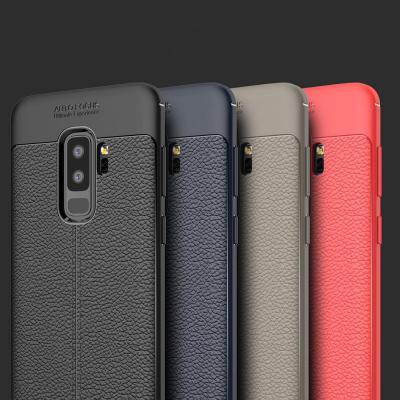 갤럭시 노트10/9/8 S10 5G S10E S9 S8 플러스 심플 디자인 슬림핏 가죽 실리콘 젤리 범퍼 핸드폰 케이스