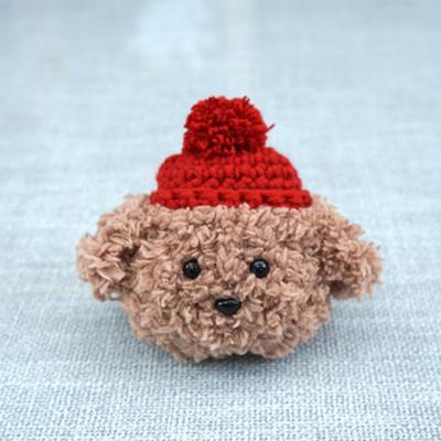 에어팟 1/2 차이팟 귀여운 강아지 푸들 캐릭터 니트 스킨 커버 뜨개질 충전 케이스 커플 악세사리 추천