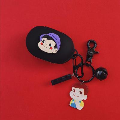 갤럭시버즈 1 2 플러스 귀여운 소년소녀 커플 캐릭터 실리콘 충전 케이스 키링세트 삼성 무선 이어폰