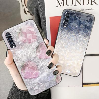 갤럭시 노트10 9 S10 5G S10E S9 플러스 크리스탈 글리터 귀여운 캐릭터 패턴 슬림 실리콘 핸드폰 케이스