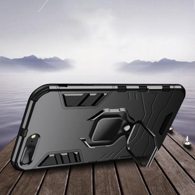 아이폰 11 프로 맥스 MAX XR XS 8 7/플러스 마그네틱 자석 스마트링 차량 거치대 범퍼 하드 핸드폰 케이스