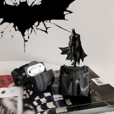 에어팟케이스 차이팟 박쥐 히어로 블랙 카CAR 실리콘 유선/무선 충전 커버 커플 이어폰 악세사리 1/2 세대