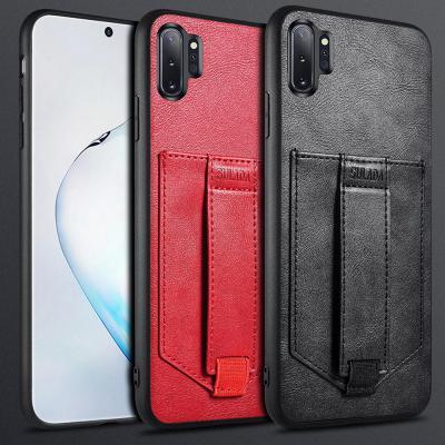 아이폰 11 프로 맥스MAX XR XS X 8 7/플러스 가죽 카드포켓 카드수납 브래킷 거치대 실리콘 핸드폰 케이스