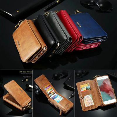 갤럭시 노트10 9 S10 플러스 S10E FLOVEME 만수르 월넷 다이어리 지퍼 포켓 카드지갑 가죽 핸드폰 케이스
