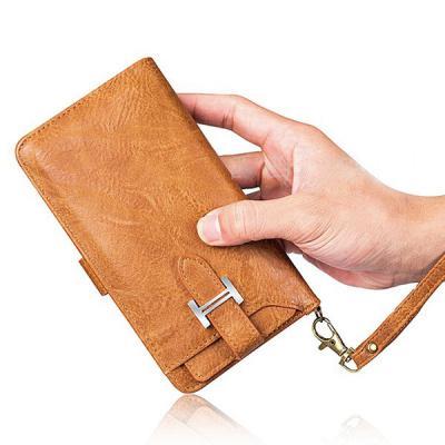 갤럭시 노트10 9 8 S10 S10E S9 S8/플러스 H클립 가죽 카드수납 지갑 손목 스트랩 다이어리 핸드폰 케이스