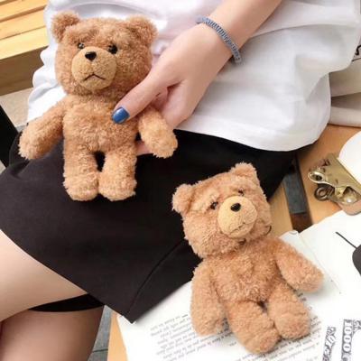 에어팟케이스 차이팟 귀여운 테드 테디베어 캐릭터 곰돌이 인형 실리콘 유선 무선 충전 털 커버 1/2 세대