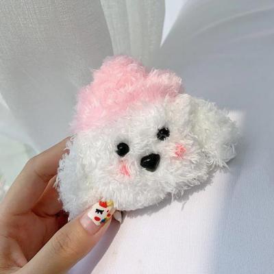에어팟프로 3세대 귀여운 뽀글이 강아지 캐릭터 인형 실리콘 무선 이어폰 충전 털 케이스 커플 추천
