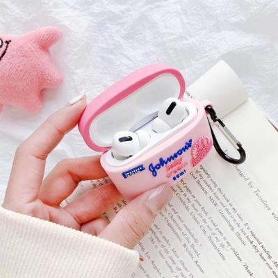 에어팟프로 3세대 귀여운 베이비로션 PRO 무선 이어폰 실리콘 충전 케이스 키링 고리 커플 추천 악세사리