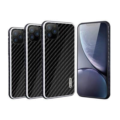 아이폰11 프로 PRO MAX 맥스 스키니 블랙 카본 강화 슬림 하드 TPU 실리콘 범퍼 핸드폰 케이스