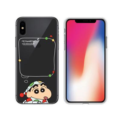 아이폰 11 pro max xr xs 8 7 플러스 귀여운 짱구 정품 캐릭터 클리어 투명 TPU 젤리 슬림 핸드폰 케이스