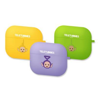 텔레토비 에어팟프로 귀여운 정품 캐릭터 무선 이어폰 실리콘 충전 케이스 철가루방지스티커 세트 3세대