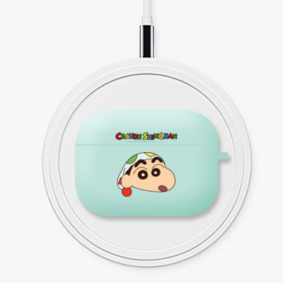 짱구 에어팟프로 귀여운 정품 캐릭터 무선 이어폰 커플 실리콘 충전 케이스 철가루방지스티커 세트 3세대