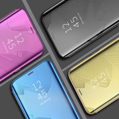 갤럭시 s20/플러스/울트라 5G 클리어 뷰 마그네틱 스탠딩 플립 커버 케이스