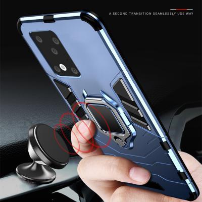 갤럭시 s20/s20플러스/s20울트라 5G 마그네틱 스마트링 차량 거치대 범퍼 하드 핸드폰 케이스