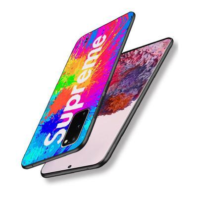 갤럭시 s20 s20플러스 s20울트라 5G SUP 슈프림 로고 강화유리 백커버 TPU 범퍼 핸드폰 케이스