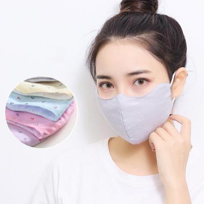 3D 입체 패턴 패션 마스크 UV 자외선 차단/사이즈 밀착 조절/숨쉬기 편한/순면 마스크
