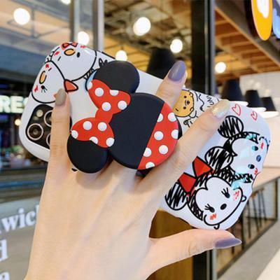 아이폰11 프로 맥스 xr xs 8 7플러스 귀여운 커플쥐 캐릭터 그립톡 젤리 실리콘 범퍼 케이스