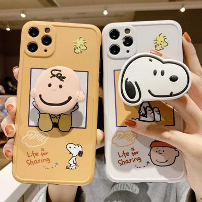아이폰12 미니 11 프로 맥스 xr xs se2 8 7 귀여운 소년 강아지 커플 캐릭터 스마트톡 카메라보호 케이스