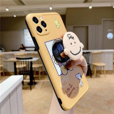 아이폰11 프로 pro max xr xs se2 8 7 귀여운 찰리 강아지 커플 캐릭터 스마트톡 카메라보호 tpu 케이스