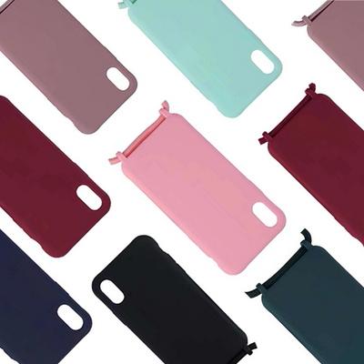 갤럭시 S20 A71 A51 크로스 스트랩 핸드폰 목걸이줄 컬러 무지 젤리 케이스/분실방지/여행용/초등학생 추천