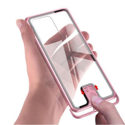 갤럭시s20 s20플러스 s20울트라 5G 클리어 슬라이드 9H 강화유리 슬림 투명 하드 범퍼 케이스/무선충전