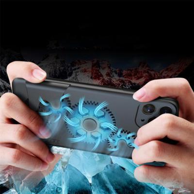 아이폰11 pro max xr xs 회전 톱니바퀴 게임 열방출 카메라 렌즈 보호 실리콘 범퍼 핸드폰 케이스