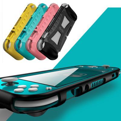 닌텐도 스위치 라이트 호환 논슬립 칼라 3D 곡면 그립 젤리 케이스 실리콘 tpu 스킨 커버 악세사리