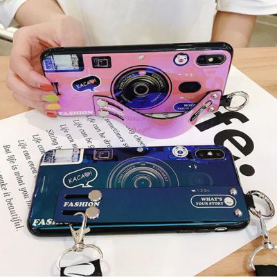 갤럭시s20 ultra s10 s10e s9 노트10 9 8 플러스 커플 카메라 캐릭터 스트랩 거치대 특이한 실리콘 케이스