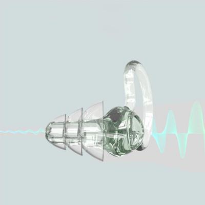 소음방지 나노 실리콘 이어플러그 3단 우산형 귀마개/숙면 수면/층간소음 차단/수험생/여행/청력보호