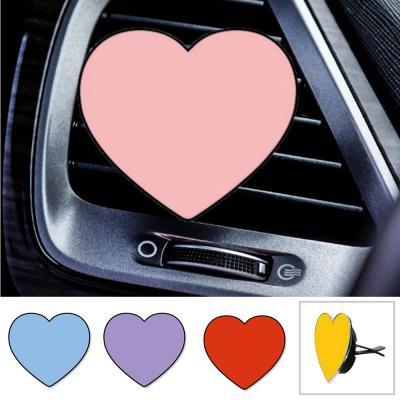 토디토 차량용 예쁜 컬러 하트 방향제 송풍구 클립형/고체 리필 타입/자동차 용품/실내 인테리어/악세사리