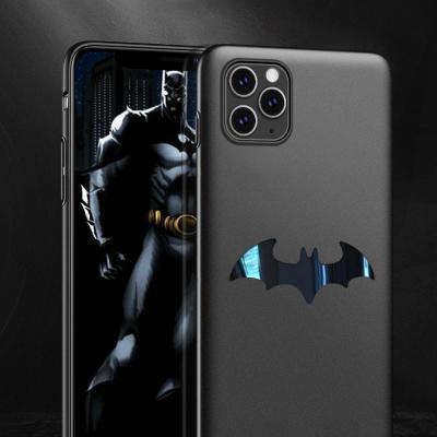 아이폰11 프로 맥스 xr xs 슬림핏 박쥐 로고 지문방지 매트 하드 마그네틱 거치 케이스