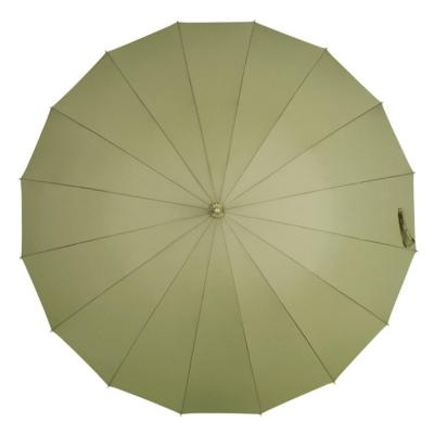 파스텔 마카롱 단색 컬러 16살 장우산/튼튼한 방풍 고밀도 방수/슬림 가벼운 경량/예쁜 고급 우산