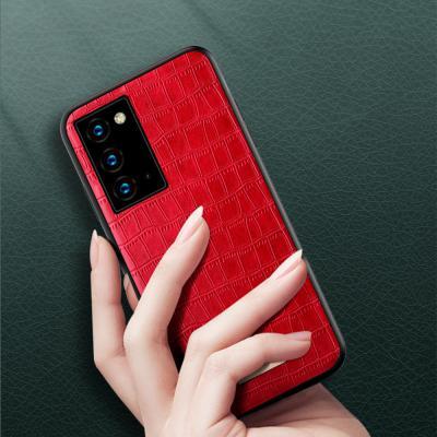 갤럭시 노트20/노트20울트라 고급 악어 가죽 패턴 디자인 심플 슬림핏 실리콘 TPU 범퍼 핸드폰 케이스
