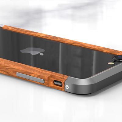 아이폰se2 11 pro max xr xs 8 7 프리미엄 메탈 원목 우드 테두리 프레임/충격보호 범퍼 하드 폰 케이스