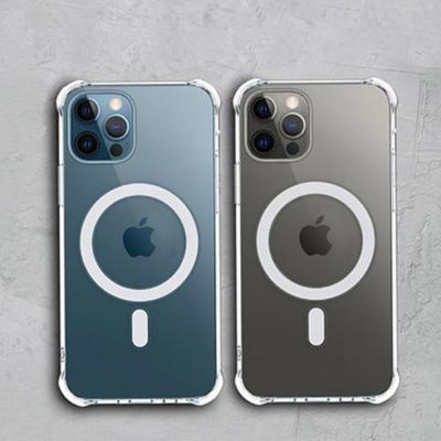아이폰12/미니/pro max 맥세이프 투명 젤하드/컬러 실리콘 케이스/카드지갑 가죽 홀더/무선충전기 보호커버