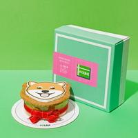 강아지 모양 케이크 시바견 SHAPE CAKE KIT
