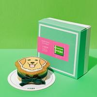 강아지 모양 케이크 골든리트리버 SHAPE CAKE KIT