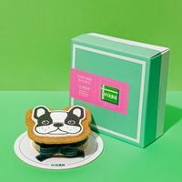 강아지 모양 케이크 프렌치불독 SHAPE CAKE KIT