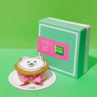 강아지 모양 케이크 스피츠 SHAPE CAKE KIT