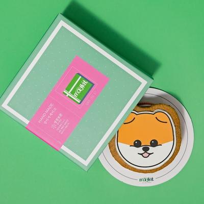 강아지 모양 케이크 포메라니안 SHAPE CAKE KIT