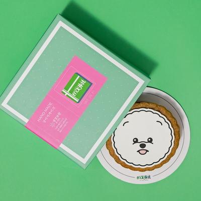 강아지 모양 케이크 비숑프리제 SHAPE CAKE KIT