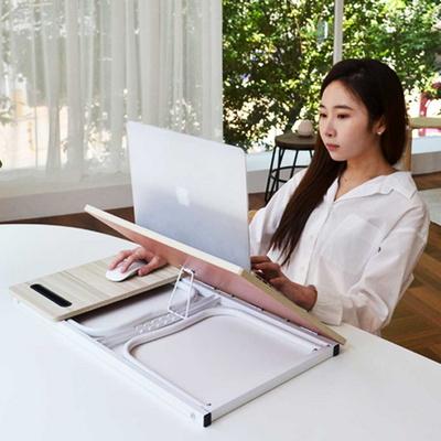 좌식컴퓨터책상 각도조절 베드트레이 노트북 책상