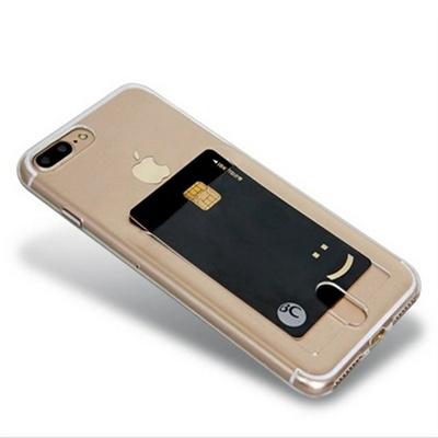 갤럭시 노트 클리어 히트 카드포켓 젤리 휴대폰 케이스