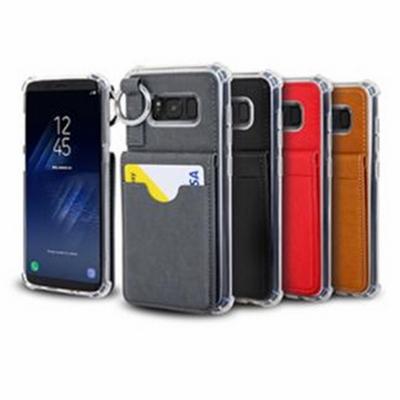 갤럭시 노트8 N950 포켓링 범퍼 휴대폰 케이스