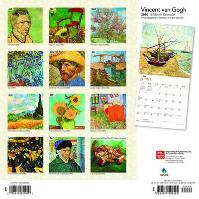 2020 캘린더 빈센트 Gogh