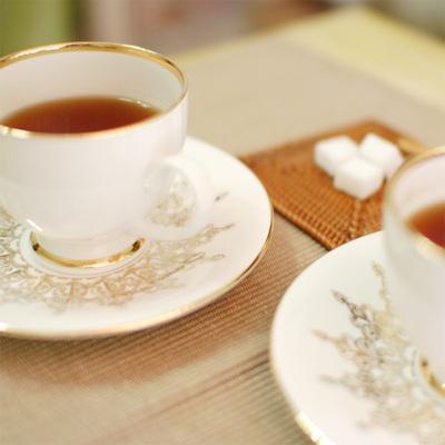 바로크 골드 퀸 커피잔 (2p)