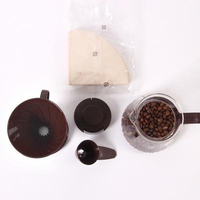 하리오 프리미엄 내열유리 커피 드립세트