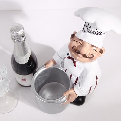 프렌치 요리사 와인 홀더