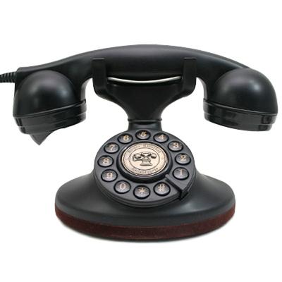 클래식 블랙 전화기