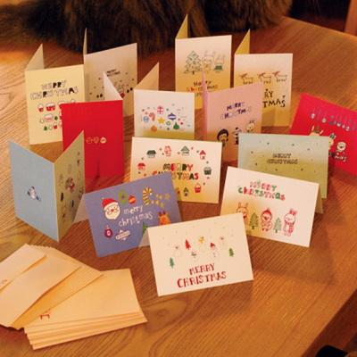 CHRISTMAS CARD 14종 set